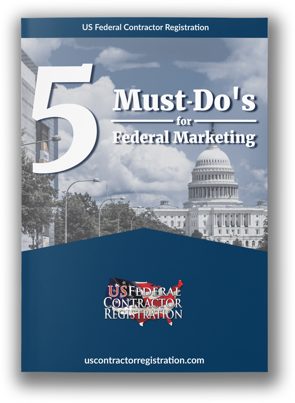 5 Must-Do's for Federal Marketing eBook Cover