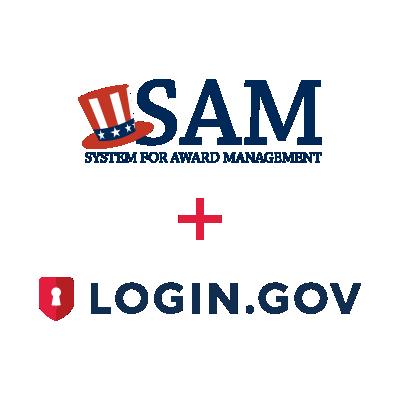 Image of SAM.gov and Login.gov Logos