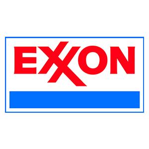 Logo for Exxon
